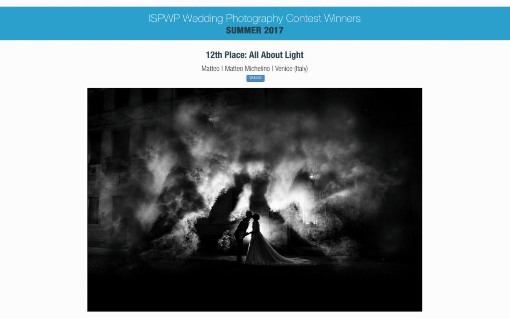 Matteo Michelino: Fotografo Professionista ISPWP. Contest Wedding Photography 2017