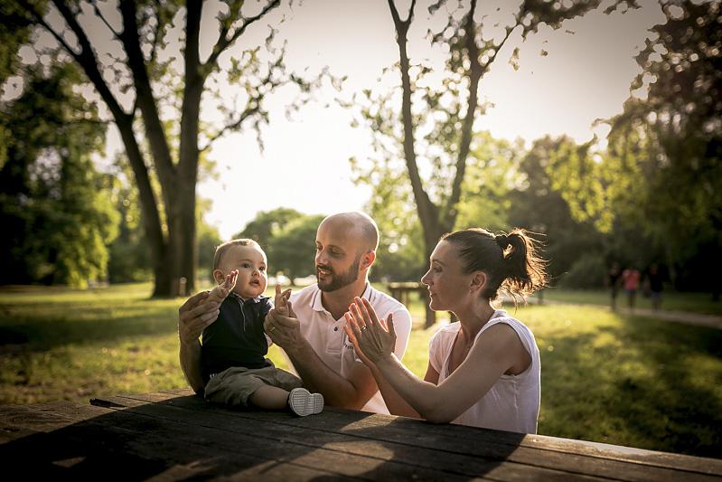 Servizio fotografico ritratti di famiglia