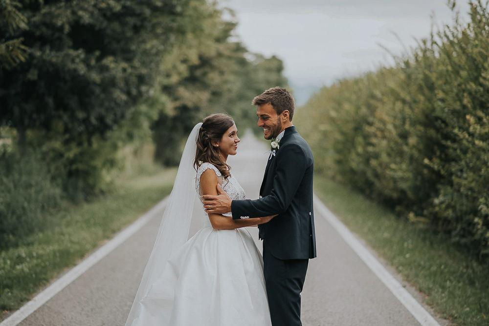 Servizio fotografico di matrimonio presso il ristorante Le Calandrine, Treviso. Camilla & Elia sposi. Michelino Studio fotografi di matrimonio professionisti a Treviso. 020