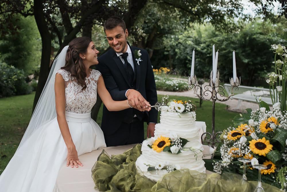 Servizio fotografico di matrimonio presso il ristorante Le Calandrine, Treviso. Camilla & Elia sposi. Michelino Studio fotografi di matrimonio professionisti a Treviso. 025