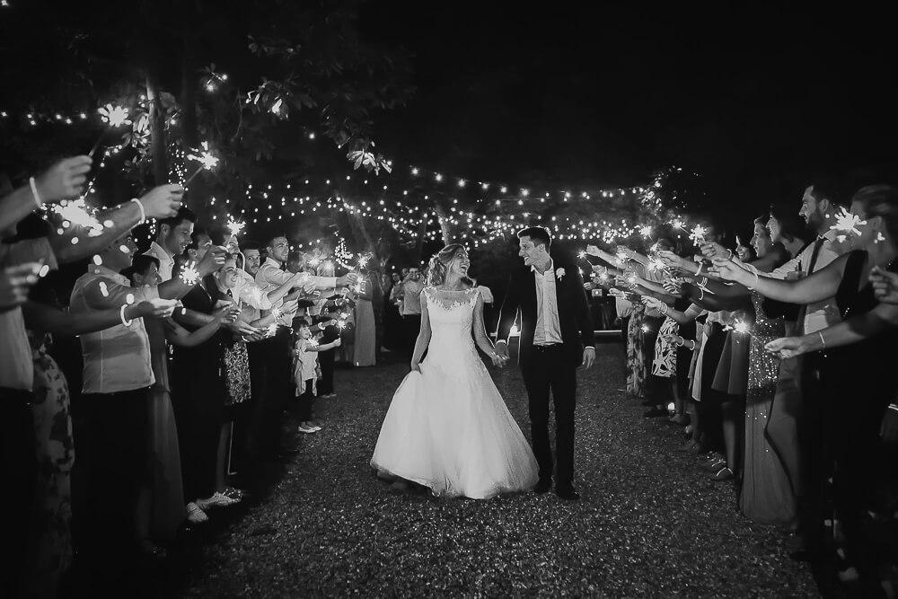 Servizio con scenografia Starlights per matrimonio