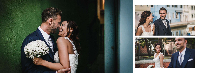 Matrimonio in laguna di Venezia a Torcello, Osteria Ponte del Diavolo. Foto degli sposi abbracciati. Il Blog di Michelino Studio, Fotografo di matrimonio in Veneto.