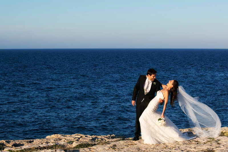 Servizio fotografico di matrimonio a Bari. Michelino Studio, fotografo di matrimonio professionista.