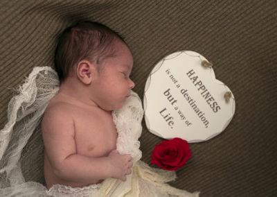 Servizio fotografico Newborn per il dolce Andrea