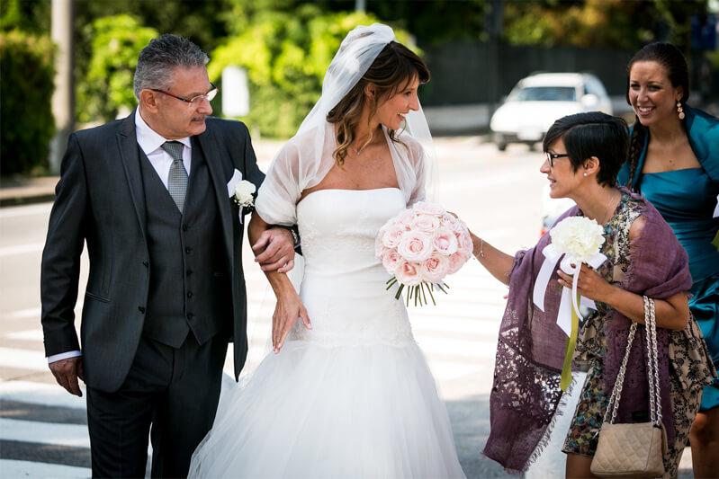 Servizio fotografico di matrimonio a Treviso e Volpago del Montello. Michelino Studio, fotografo di matrimonio professionista in Veneto.