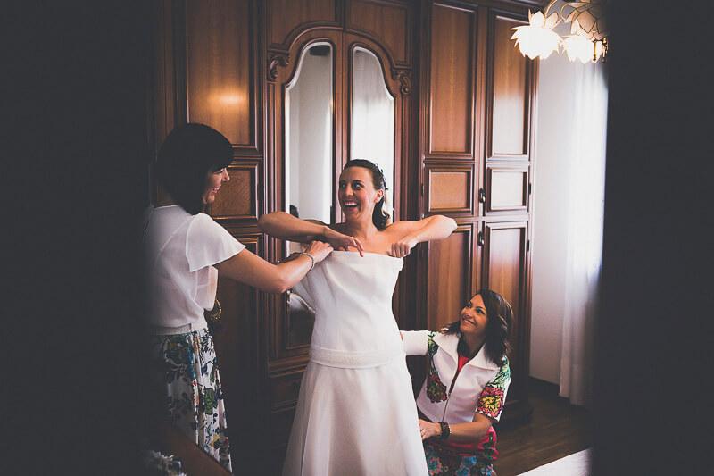 Servizio fotografico di matrimonio a San Vito Tagliamento, ricevimento Borgo Villa Braida. Michelino Studio, fotografo di matrimonio professionista in Veneto.
