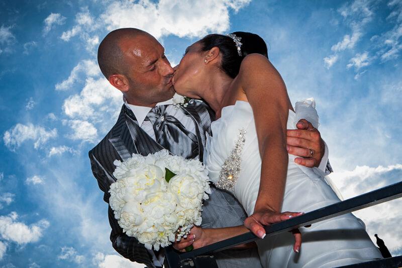 Servizio fotografico di matrimonio a Caorle in provincia di Venezia. Michelino Studio, fotografo di matrimonio professionista in Veneto.
