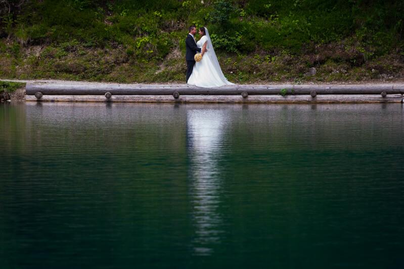 Servizio Fotografico di matrimonio a Tarvisio, Friuli Venezia-Giulia. Michelino Studio, fotografo di matrimonio professionista in Friuli.