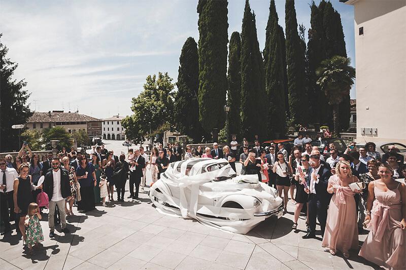 Servizio fotografico di matrimonio a Conegliano e ricevimento a Cà del Poggio. Debora & Roberto sposi. Michelino Studio, fotografo di matrimonio professionista in Veneto.