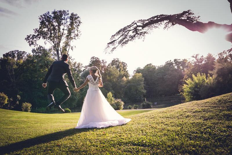 Idee per scatti di nozze divertenti