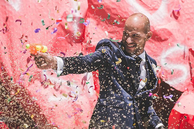 Festa e party di nozze: gli scherzi per stupire gli sposi