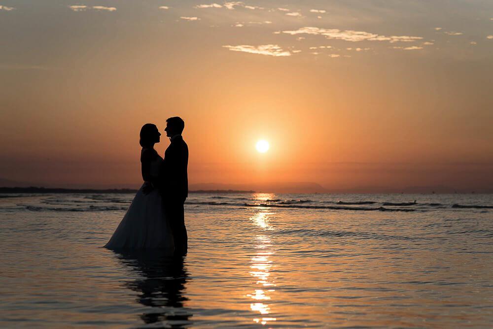 Trash the dress, servizio fotografico  dopo il matrimonio