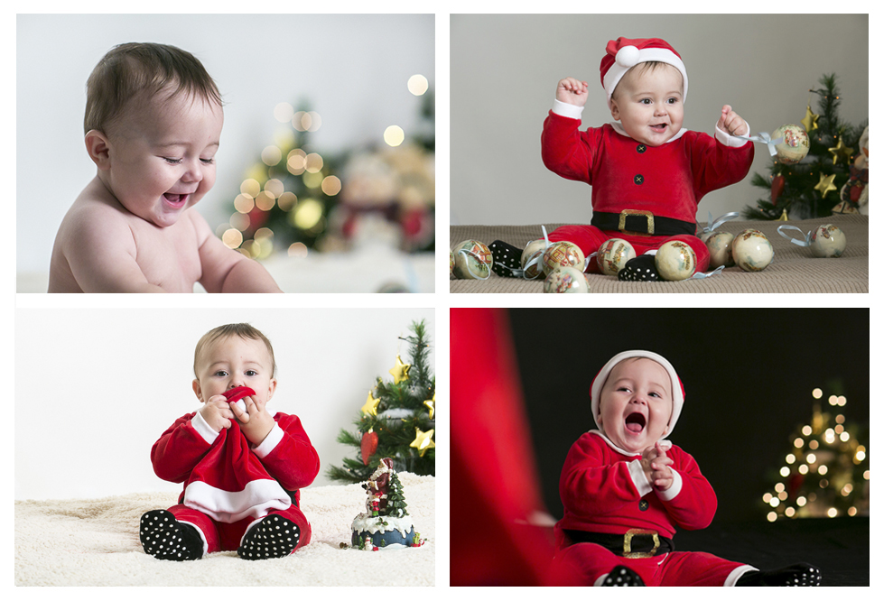 Servizio fotografico di Natale per bambini. Cara mamma.. buon Natale!