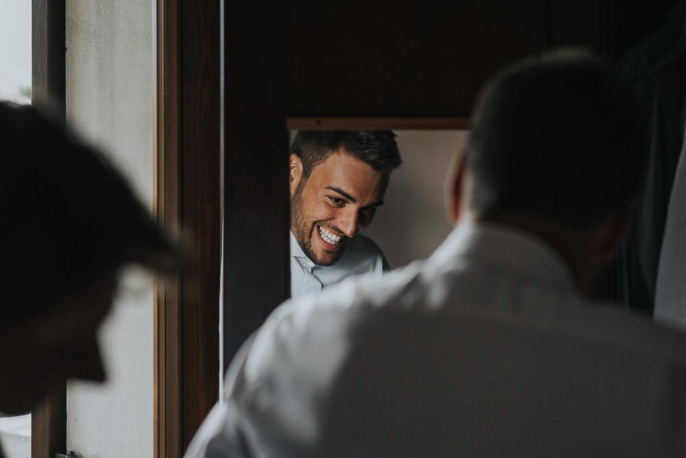 Servizio fotografico di matrimonio presso il ristorante Le Calandrine, Treviso. Camilla & Elia sposi. Michelino Studio fotografi di matrimonio professionisti a Treviso. 002