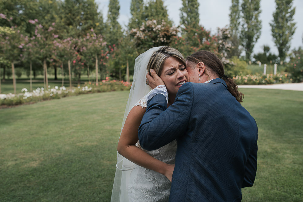 Servizio fotografico di matrimonio a Venezia, presso Villa O'Hara. Valentina & Fabio sposi. Michelino Studio, fotografo di matrimonio professionista in Veneto.