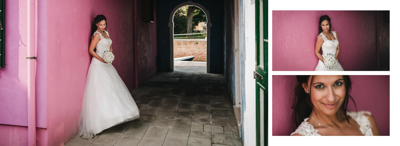 Matrimonio in laguna di Venezia a Torcello, Osteria Ponte del Diavolo. Foto degli sposi nello scenario di Torcello. Il Blog di Michelino Studio, Fotografo di matrimonio in Veneto.
